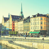 Old Town (Gamla Stan) in Stockholm Royalty Free Stock Photography