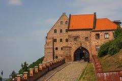 Old town gate of Grudziadz Stock Photography