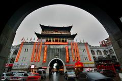 Old town gate. Luoyang. Henan, China Stock Photo