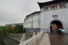 Old town gate. Luoyang. Henan, China Royalty Free Stock Photo