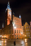 Old Town in Gdansk. City Hall of old town in Gdansk, Poland Stock Photos