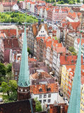 Old town, Gdansk Stock Photography