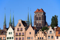 Old Town in Gdansk Royalty Free Stock Images