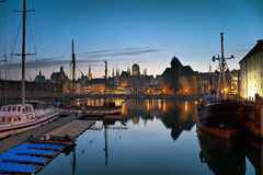 Old Town in Gdansk Stock Image