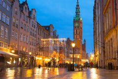 Old town of Gdansk architecture Royalty Free Stock Photos