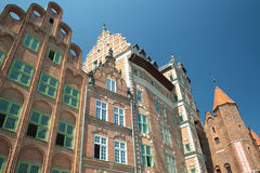 Old town of Gdansk city Royalty Free Stock Image