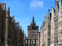 Old town Gdansk Danzig Poland. Old town Gdansk Danzig - Poland. Gold gate Royalty Free Stock Images