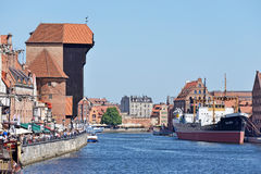Old Town of Gdansk Royalty Free Stock Images