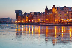 Old town in Gdansk, Ireland Royalty Free Stock Photo