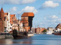 Old town of Gdansk Stock Image
