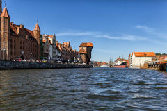The old Town Gdansk Royalty Free Stock Photo