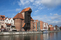 Old town of Gdansk Royalty Free Stock Photo