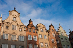 Old town Gdansk Poland Stock Photography