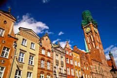 Old town in Gdansk Poland Stock Image