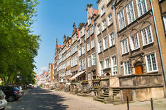 Old town in Gdansk, Poland Royalty Free Stock Image