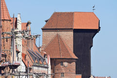Old town of Gdansk, Poland Stock Image