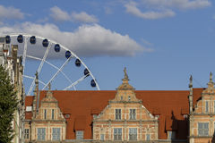 The old town in Gdansk - Poland Royalty Free Stock Photography