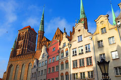 Old town of Gdansk, Poland Stock Images