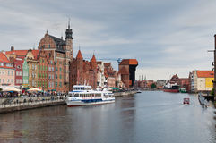 Old Town in Gdansk, Poland Royalty Free Stock Photos
