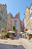 Old town of Gdansk, Poland Stock Photography