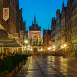 Old Town of Gdansk, Poland Royalty Free Stock Images