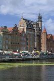 Old Town in Gdansk, Poland Stock Images