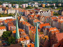 Old Town of Gdansk Stock Photos