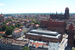 Old Town - Gdansk. royalty free stock photo