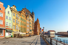 Old Town in Gdansk Royalty Free Stock Photos