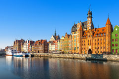 Old Town in Gdansk Royalty Free Stock Image
