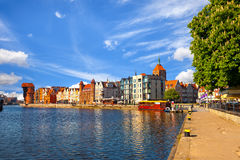 Old Town in Gdansk Royalty Free Stock Photography