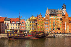 Old Town in Gdansk Stock Photography