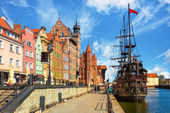 Old Town in Gdansk Stock Photos