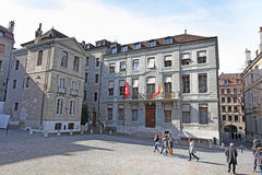 Old Town Geneva Royalty Free Stock Photo