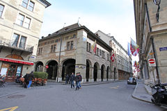 Old Town Geneva Royalty Free Stock Photography