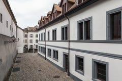 Old town of Geneva, Switzerland. Street view Royalty Free Stock Image