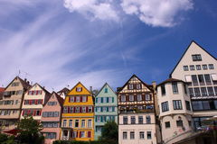 Old town in Germany. Old town street in Germany, Tuebingen Stock Photo