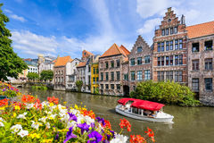 Old town of Ghent, Belgium Royalty Free Stock Photography