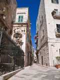 The Old town of Giovinazzo. Apulia. Royalty Free Stock Image
