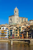 Old town, Girona, Spain Royalty Free Stock Photos