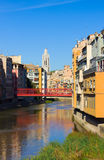 Old town of Girona, Spain Royalty Free Stock Photography