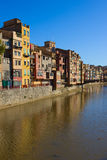 Old town of Girona, Spain Royalty Free Stock Photos