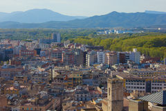 Old town of Girona, Spain Stock Photos
