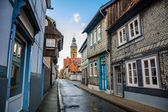 Old town of goslar, germany Stock Images