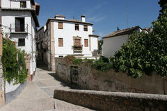 Old town Granada Stock Image