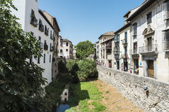 Old town of Granada, Spain Stock Photography