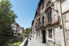 Old town of Granada, Spain Royalty Free Stock Image