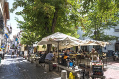 Old town of Granada Royalty Free Stock Images