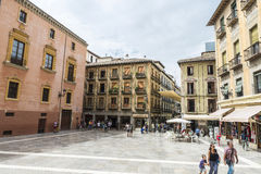 Old town of Granada, Spain Stock Photo