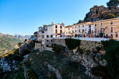 Old town of Guadalest. Spain Royalty Free Stock Image
